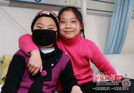 双胞胎姐妹-妹妹患白血病,姐姐骨髓配型成功